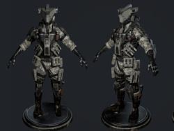 陆战机器人