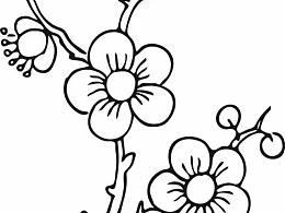 素材扣图|一组花的简笔画分享