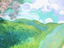 最近的一些油画棒练习