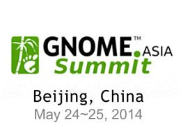 2014年GNOME.Asia
