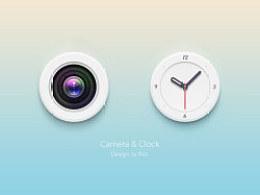 相机 钟表icon