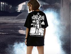 """Zi""AJ1禁穿主题《以眼还眼》插画、T恤"