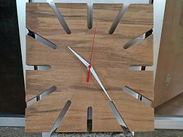 纯木工时钟