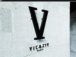 VIC&ZIV皮具品牌设计
