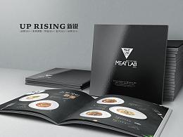 MEAT LAB 蜜特乐(美食餐厅)时尚小吃 菜谱 菜单 餐牌 画册 (已商用 10P)