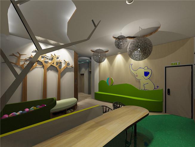 小象森林主题幼儿园-成都幼儿园装修 成都幼儿园设计图片