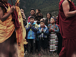 Tibet. It is the last piece of pure land.