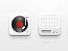 音乐 收音机 电视icon