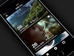 One All -App -我的移动日记