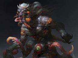 元素动力冯伟——怪物演示