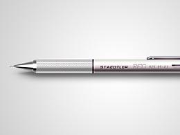 拟物图:铅笔/USB/冰激凌  /UI设计/输入法皮肤/写实/鼠绘