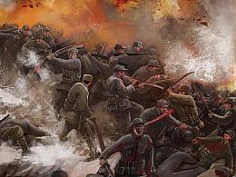 北京卫视纪录片《红军不怕远征难》气氛图