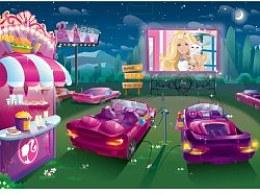Barbie 芭比各类插画背景