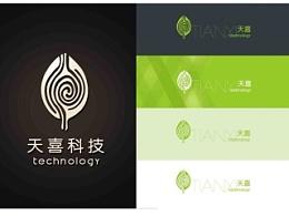 天喜科技标志设计