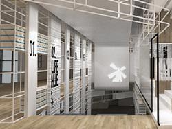 RIGI.睿集设计 | 商业空间设计案例 | 热风武汉汉街概念店