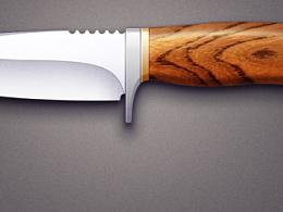 跟教程做的刀