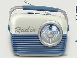 收音机ICON临摹