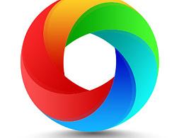 炫彩圆环,图标临摹