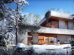 别墅建筑表现