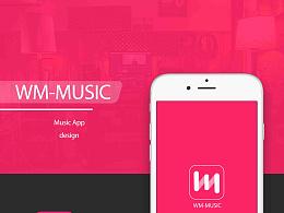 WM Music (界面临摹作品)