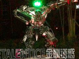 苹果??平果!!!金属诱惑牌变形金刚深夜围观广西平果城市假日楼盘