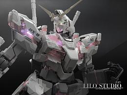 PG RX-0 Gundam Unicorn 独角兽高达 No3310