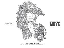 原创黑白插画---《厄尔尼多》---MRYE