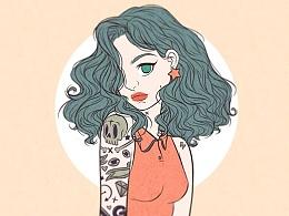 Tatto ❤ Girl