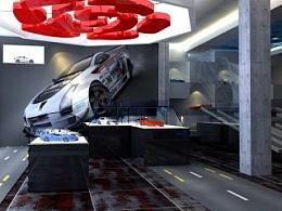 车模展厅概念室内设计