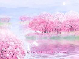 还记得樱花盛开?