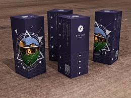 高尔夫球包装盒设计