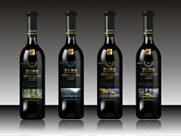 九寨林红卓玛葡萄酒包装