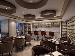 深圳福田-中南海怡酒店餐厅设计