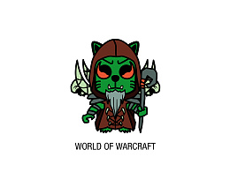 魔兽世界 大祭司萨满古尔丹