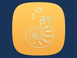 海洋主题图标_音乐
