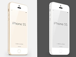 iPhone 苹果5 金色 白色 by 丶DCGIRL_LJ