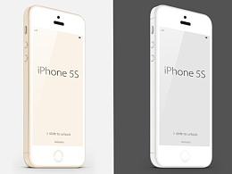 iPhone 苹果5 金色 白色