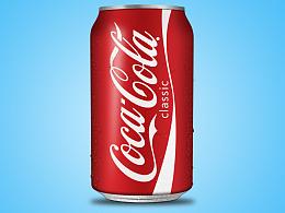 临摹一罐可口可乐