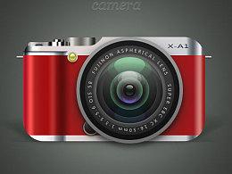 相机icon习作