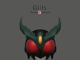 幪面超人Gills