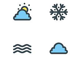 ONE DAY天气 app