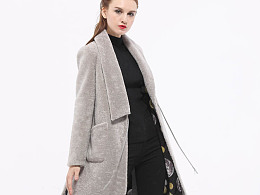 真皮毛一体女装,澳洲羊皮,TOOXIU图休