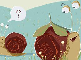 绘本故事《青蛙与蜗牛》