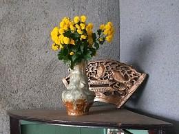 11月新做陶瓷花器 手捏而成 拙器花瓶