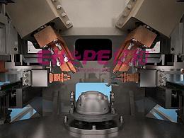 自动化装配焊接生产线工业三维动画制作