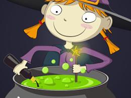 小女巫的魔法药水