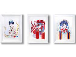[毕业设计] 《木兰辞》京剧文化 ——装饰画设计