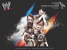 【WWE系列】CM PUNK