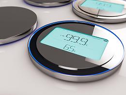 温湿度记录仪外观设计