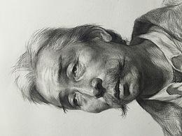 男中老年绘画步骤